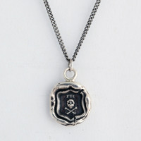 I Was Here Talisman Necklace