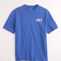 Jockey Number Patchwork Whale T-Shirt