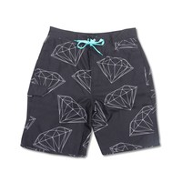 All Over Brilliant Boardshorts in Black - SHORTS - BOTTOMS