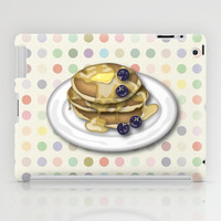 Pancakes With Syrup And Blueberries iPad Case by Tees2go