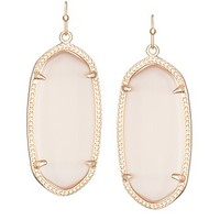 Elle Rose Gold Earrings in Peach - Kendra Scott Jewelry