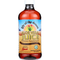 Lily Of The Desert Aloe Vera Juice - Organic - 16 Oz - Case Of 12