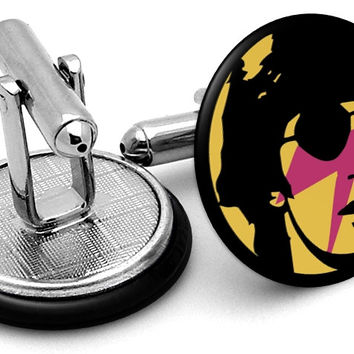 David Bowie Cufflinks