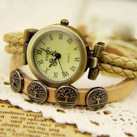 Grace Totem Tree of Life Retro Watch