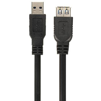 ELEGIANT 5Gbps 1.5m High Speed USB 3.0 Male to Female Short Cable Extension For PC Laptop