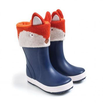 Fox Boot Liners by JoJo Maman Bebe
