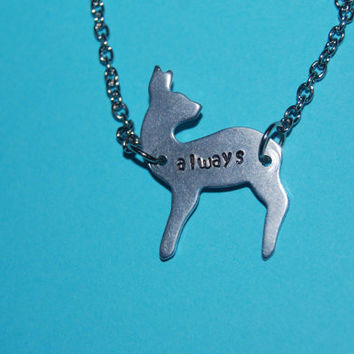 Always Doe Harry Potter Necklace