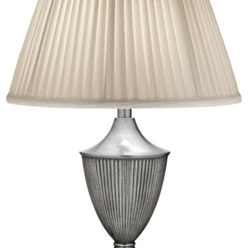 0-003547>1-Light Table Lamp Pewter