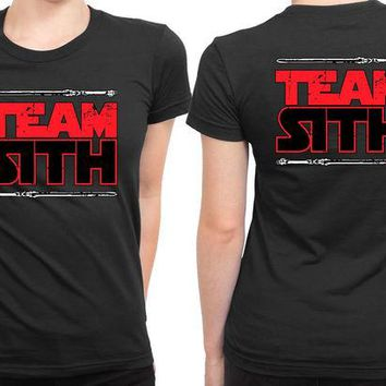 DCCKG72 Star Wars Team Sith 2 Sided Womens T Shirt