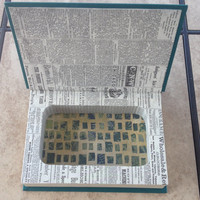Book Safe - Reader's Digest / Hollow Book / Storage Box / Secret Compartment / Recycled/ Jewelry Box / Hidden Treasures/ Green