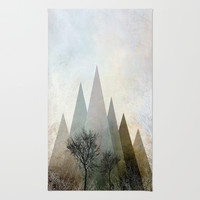 TREES IV Rug by Pia Schneider [atelier COLOUR-VISION]