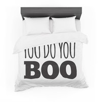 "KESS Original ""You Do You Boo"" Featherweight Duvet Cover"