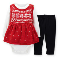 3-Piece Sweater Tunic & Pant Set