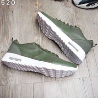 NIKE AIR MAX 87 Men Fashion Casual Running Sneakers Sport Shoes Army green G-A-YYMY-XY