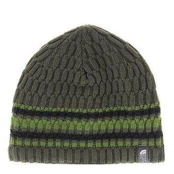 DCCKBWS The North Face The Blues Beanie 2016, Black Ink Green, One Size