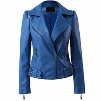 Vibrant Leather Motorcycle Jackets