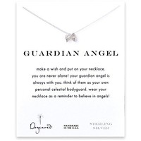 Dogeared Guardian Angel Necklace, Sterling Silver