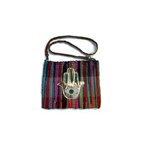 Hand Of The Fatima Kilim Bag - Maslinda Designs