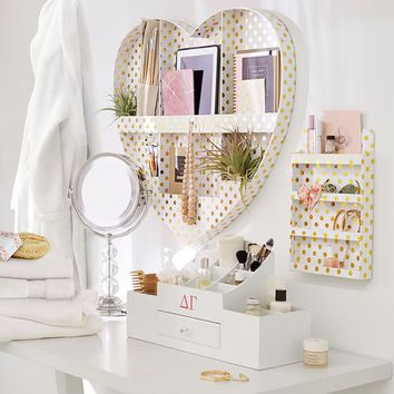 Paper Wall Beauty Organizer