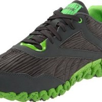 Reebok Women's Zigfuse Shoe,Rivet Grey/Sushi Green,8 M US