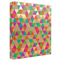 "Greenroom™ 1"" Ring Binder with Hard Cover - Multicolor : Target"