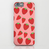 Strawberry Delight iPhone & iPod Case by Saif Chowdhury