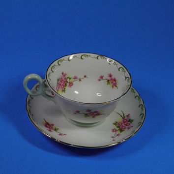Shelley Vintage Tea Cup and Saucer Set