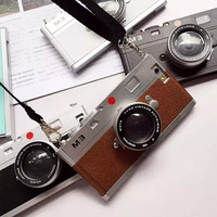 Cool 3D Vintage Camera Phone Case For Apple iPhone 5/ 5s/6 /6s/6Plus/6s Plus