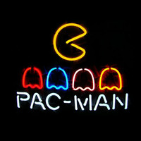 Pac Man Neon Sign