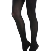 Blackheart Premium Opaque Black Tights