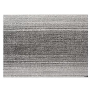 Chilewich Place Mat, Ombre Silver