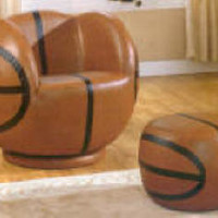 Swivel Basketball Chair