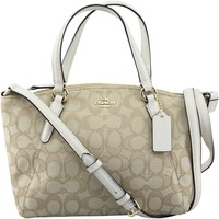 Coach Women's Outline Signature Mini Kelsey Canvas Crossbody, Style F57830