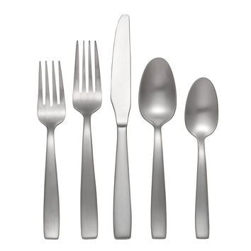 Oneida Everdine 65 Piece Casual Flatware Set, Service for 12