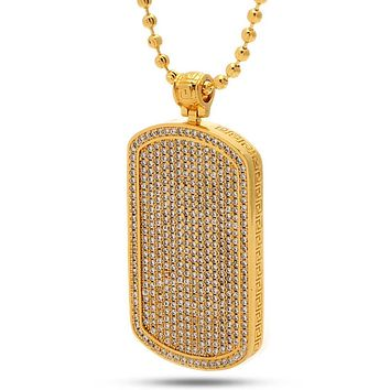 The Dog Tag Necklace - Designed by Snoop Dogg x King Ice