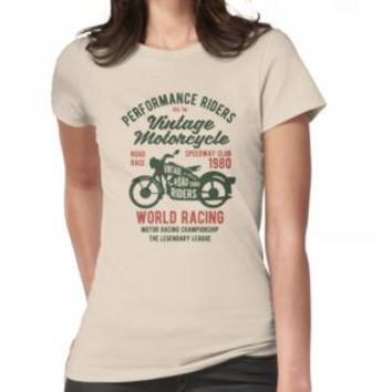 'VINTAGE MOTORCYCLES' T-Shirt by Super3