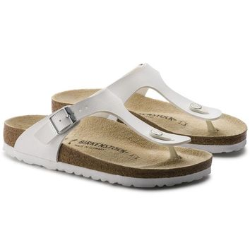 Birkenstock Gizeh Birko-Flor sandals for Women & Men flip flops shoes