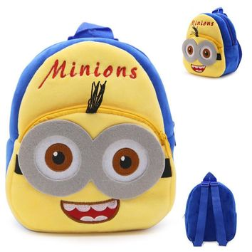 Cute Kids Cartoon School Bags Children Orthopedic Pegman School Backpacks For Girls Boys School Bags For 1-3 Grade Studets