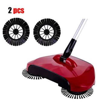 New Arrival Home Use Magic Manual Telescopic Floor Dust Sweeper Side Brush