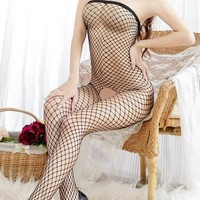 New Women Sexy Lingerie Hollow Floral Lace Dress Sexy Underwear Sexy Sleepwear G-string Sexy Costumes Erotic Lingerie QF018,5