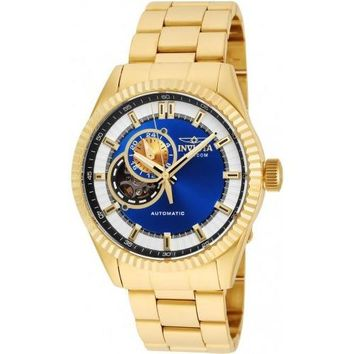 Invicta Men's 22080 Pro Diver Automatic 3 Hand Blue Dial Watch