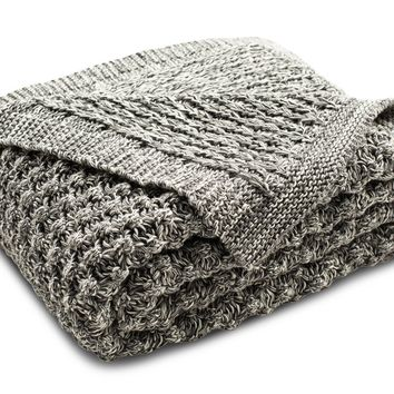 Lincolnshire Knit Throw