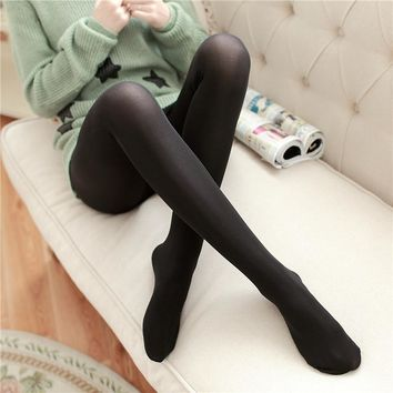 120D velvet trendy Sexy Tights Spring and Autumn Anti-Hooking Tights Foot nylon elastic multicolor stockings
