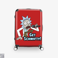 Get Schwifty, Rick And Morty Suitcase