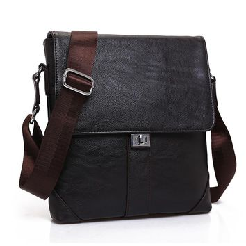New Casual Leather Messenger Bag Men Bag Fashion Male Cross Body Bag Retro Business Shoulder Bag Handbags Men