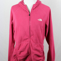 Women's Extra Large North Face Zip Up Sweater