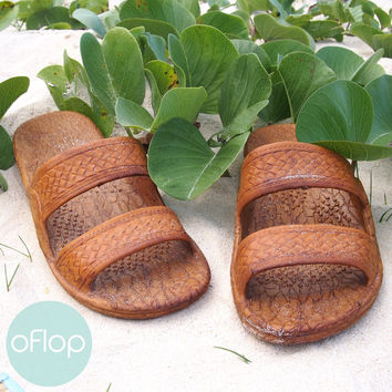 Light Brown Jandals -- Pali Hawaii Classic Sandals