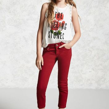 Girls Skinny Ankle Jeans (Kids)