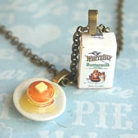 buttermilk pancake necklace