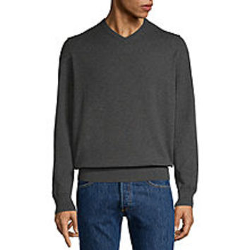 St. John's Bay V Neck Long Sleeve Pullover Sweater - JCPenney